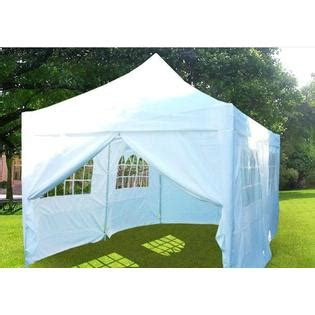quictent    party wedding tent canopy white outdoor living gazebos canopies