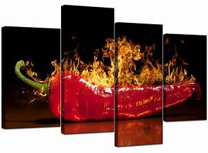 large red chilli kitchen canvas wall art pictures 130cm With kitchen colors with white cabinets with extra large abstract wall art