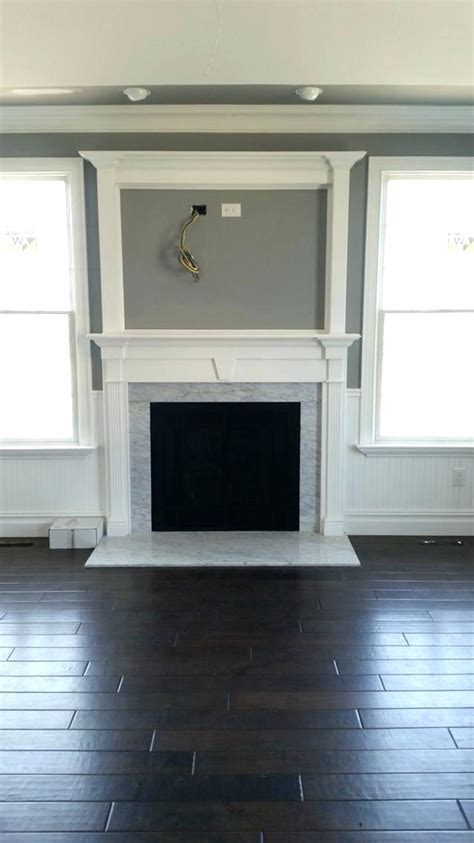 Fireplace With Tv Above by Tv Above Fireplace Ideas Infamousnow