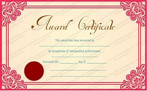 best teacher award template best achievement award certificate template