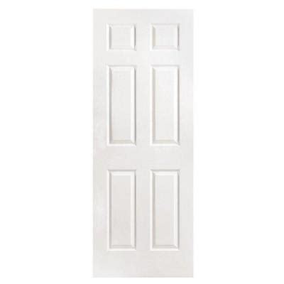 6 Panel Interior Doors Home Depot by Masonite Textured 6 Panel Solid Primed Composite