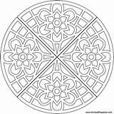 Coloring Mandala Pages Waffle Simple Flower Printable Transparent Optical Adult Mandalas Colouring Illusions Heart Adults Donteatthepaste Illusion Format Eat Library sketch template