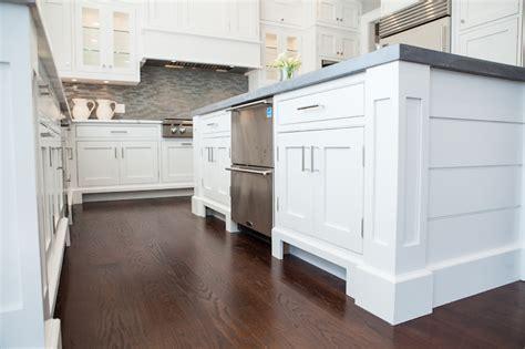 Kitchen Island Stacked Dishwashers   Transitional