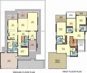 Floor plan of the case study villa. | Download Scientific ...
