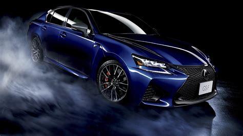lexus gs f coche azul fondo negro fondos de pantalla