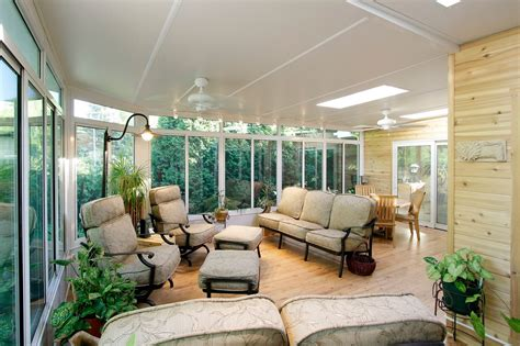 All Season Sunroom Designs by From The Roof In Residential Renovations Patio