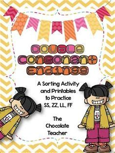1000+ Images About Double Consonant On Pinterest  Activities, Worksheets And Finals