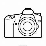 Camera Coloring Canon Eos sketch template