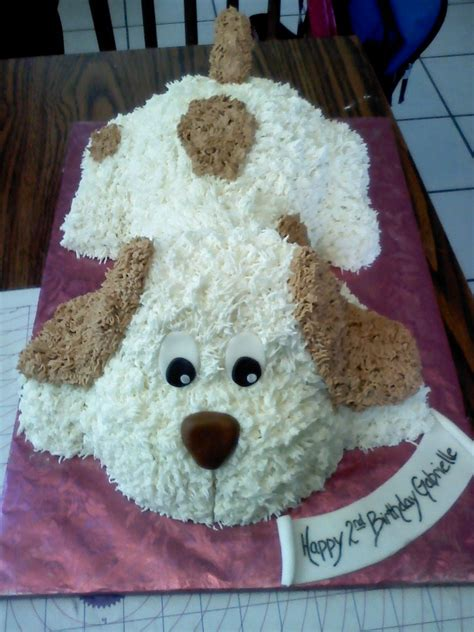 wwwfacebookcomnikkiscreativeconfections puppy cake