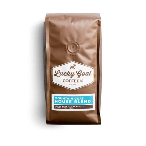 The goat coffee house awards & accolades. Mountain Goat House Blend - Lucky Goat Coffee Co.   MetaRoaster