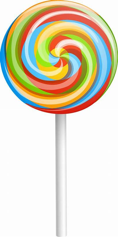 Candy Lollipop Transparent Clipart Clip Background Insertion