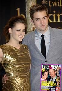 Robert Pattinson and Kristen Stewart Talk Marriage During ...