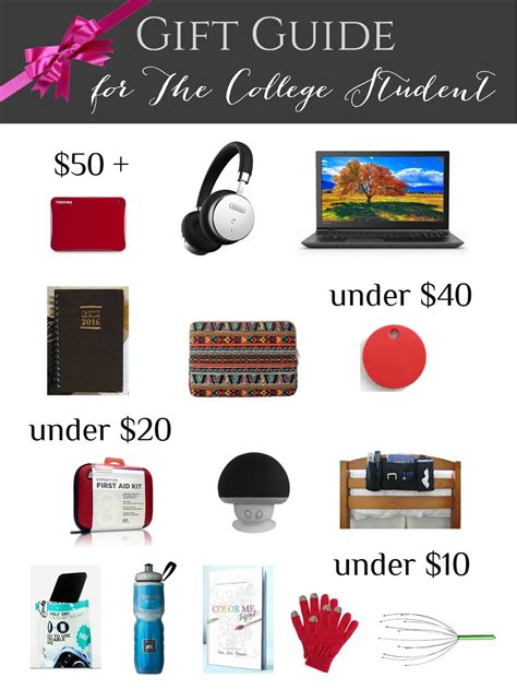 christmas gift guides for college men college student gift guide crafting in the
