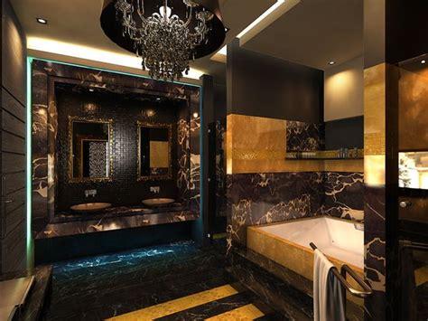 wealth  luxury bathroom bath design gold bathroom