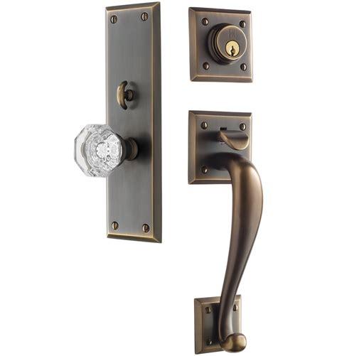 entry door locks coleman octagonal knob exterior door set