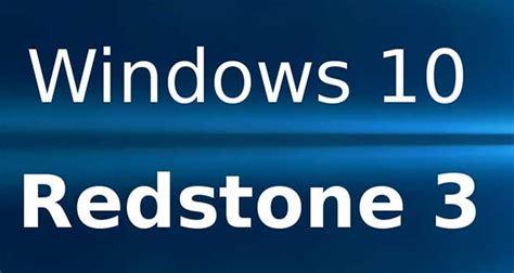 windows 10 redstone 3 la premi 232 re quot build quot est compil 233 e