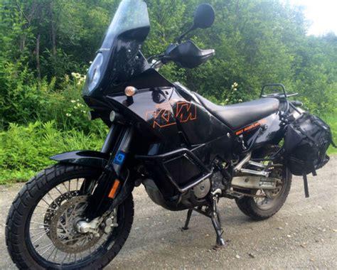 Black Adventure Off Road Dirt Bike Ktm Motorcycle Enduro