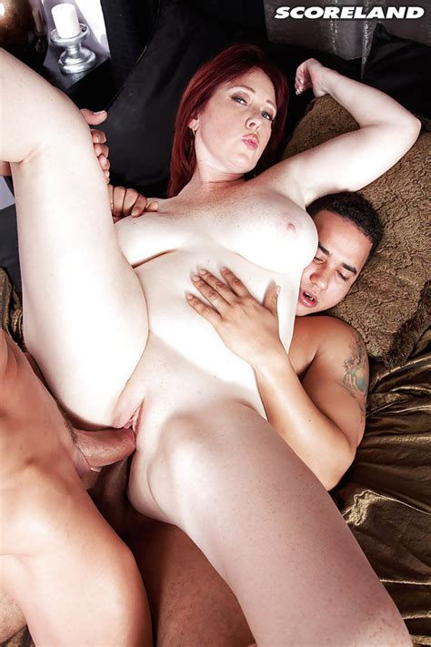 [scoreland] bbw older woman heather barron in double penetration mmf