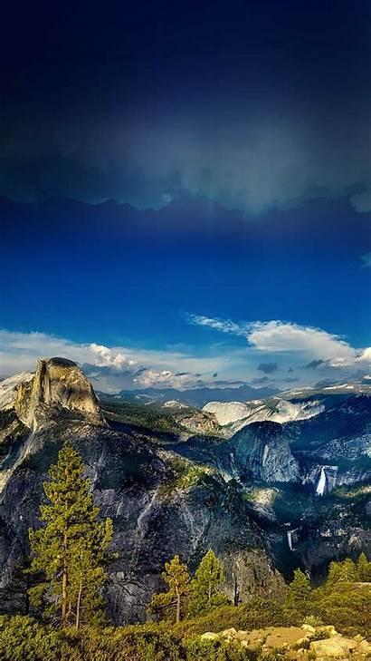 Iphone Nature Summer Wood Yosemite Wallpapers Mountain
