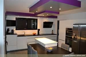 cuisine stratifie fonce loudeac 22 cuisines raison With architecture de cuisine moderne