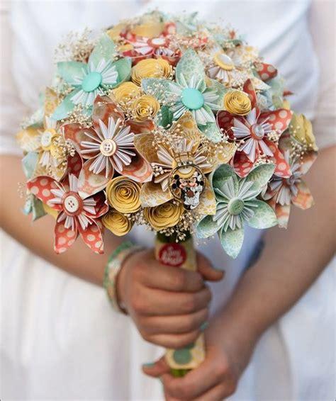paper flowers bouquet wedding httplometscom