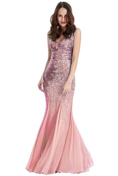 Pink Sequin Omari Maxi Prom Dress | Sequin Maxi Prom Gown 2016 | u00a374.99