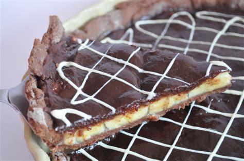 tarte chocolat banane pate sablee tarte chocolat banane 224 tomber cuisine avec du chocolat ou thermomix mais pas que