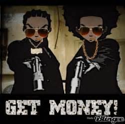 Boondocks Riley and Huey Gangsta