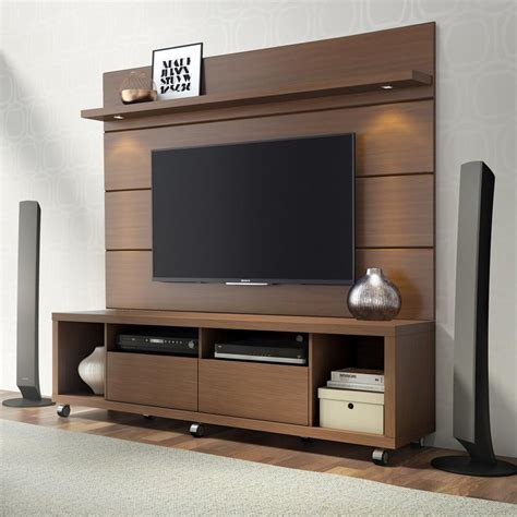 Tv Paneel Wand by Manhattan Comfort Cabrini Tv Stand Floating Wall Tv