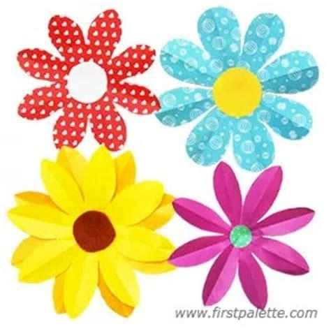 easy folded paper flowers
