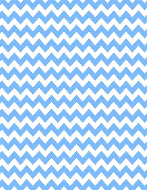 Chevron Blue Background by Light Blue Zig Zag Borders