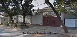 Saudi Embassy Dhaka Office Address in Bangladesh