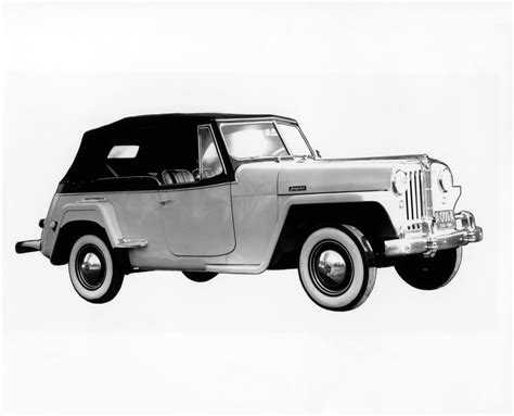 1948 willys jeepster jeep heritage 1948 jeep willys jeepster the jeep blog