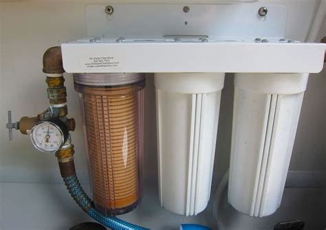 rv water filter  ultimate guide  rv filtration