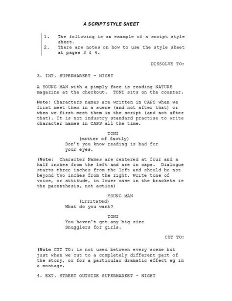 Screenplay Template 37 Creative Screenplay Templates Screenplay Format