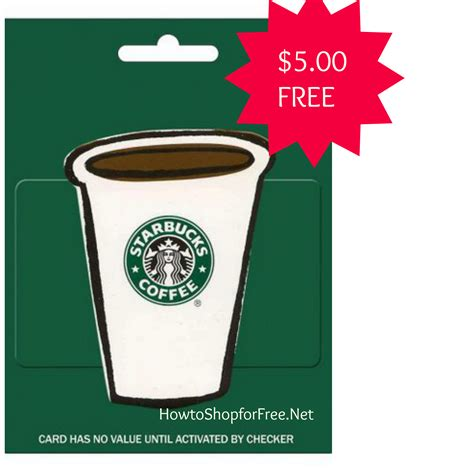 Free $500 Starbucks Gift Card  How To Shop For Free With