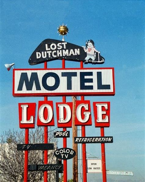 776 Best Images About Retro Motel Signs On Pinterest