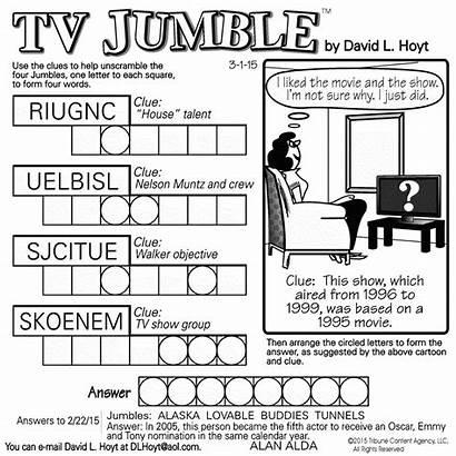 Jumble Tv Word Square Puzzles Puzzle Sample