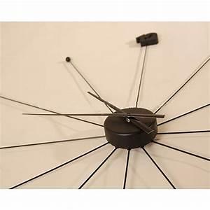 Wanduhr Schwarz Modern : riesige design wanduhr umbrella 99cm schwarz ~ Michelbontemps.com Haus und Dekorationen