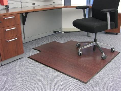 realspace outlet bamboo medium chair mat with lip 36 quot w x