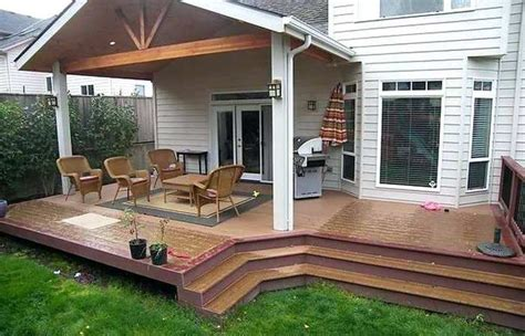Back Porch Landscaping Ideas by Timber Patio Roof Designs Ideas Heavy Covers Landscape