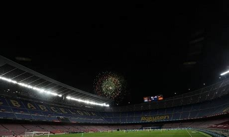 Barcelona tie with Juve could see fans return, says ...