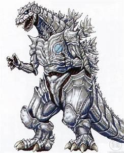 Kaijusaurus - Concept Art of MechaGodzilla-Kiryu from 2002 ...