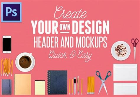 Header Creator by Create Your Own Design Header And Mock Ups Easy