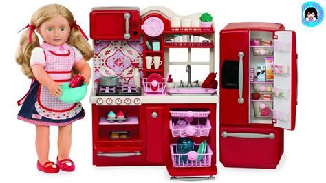 UNBOXING! OUR GENERATION Gourmet Kitchen Set I American