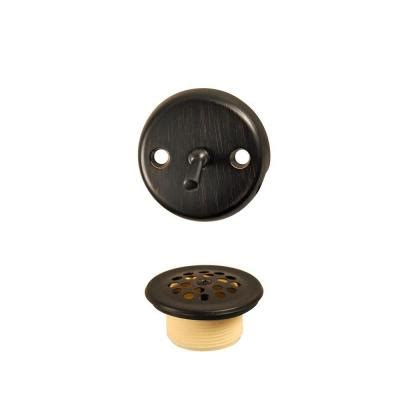 danco trip lever tub drain kit in oil rubbed bronze