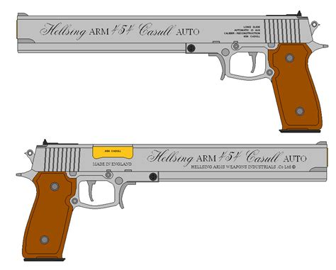Casull 454 Pistol By Shadowcrusader155 On Deviantart