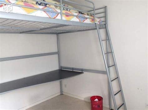 lit mezzanine 140 avec bureau lit mezzanine ikea tromso clasf