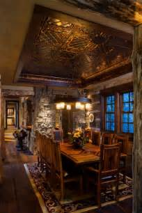rustic dining room ideas 15 rustic dining room interior designs for the winter season