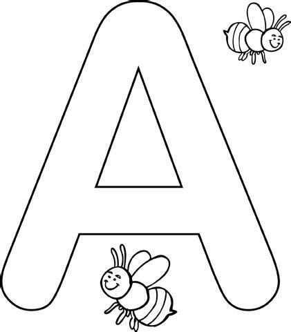 lettere dell alfabeto da colorare az colorare lettere alfabeto colorate da stare imagui 82414